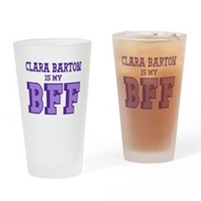 Clara Barton BFF Drinking Glass