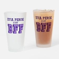 Eva Peron BFF Drinking Glass