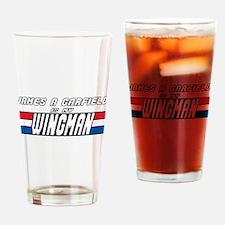 James A Garfield Wingman Drinking Glass