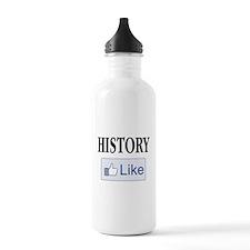 Like History? Water Bottle