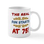 Real Fun 75th Birthday Mug