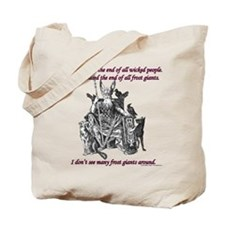 Frost Giant Tote Bag