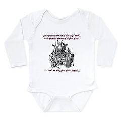 Frost Giant Long Sleeve Infant Bodysuit