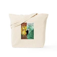 Woodpecker Haiku Tote Bag