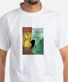 Woodpecker Haiku T-Shirt