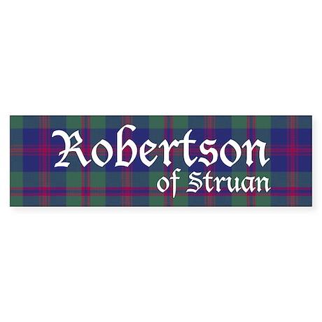Tartan - Robertson of Struan Sticker (Bumper)