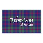 Tartan - Robertson of Struan Sticker (Rectangle)