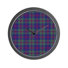 Tartan - Robertson of Struan Wall Clock