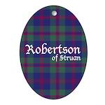 Tartan - Robertson of Struan Ornament (Oval)