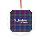 Tartan - Robertson of Struan Ornament (Round)