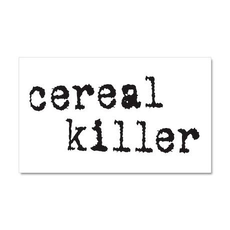 Cereal Killer Car Magnet 20 x 12