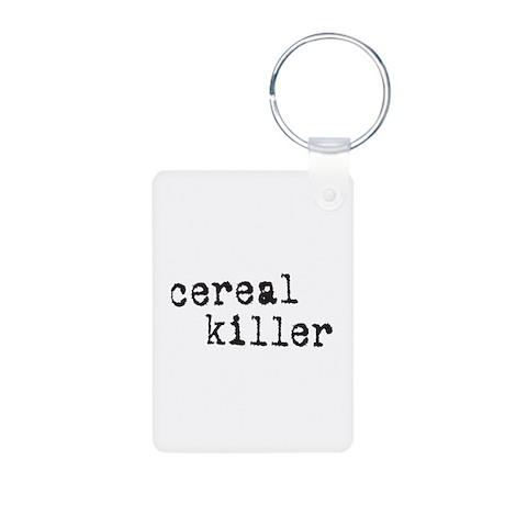 Cereal Killer Aluminum Photo Keychain