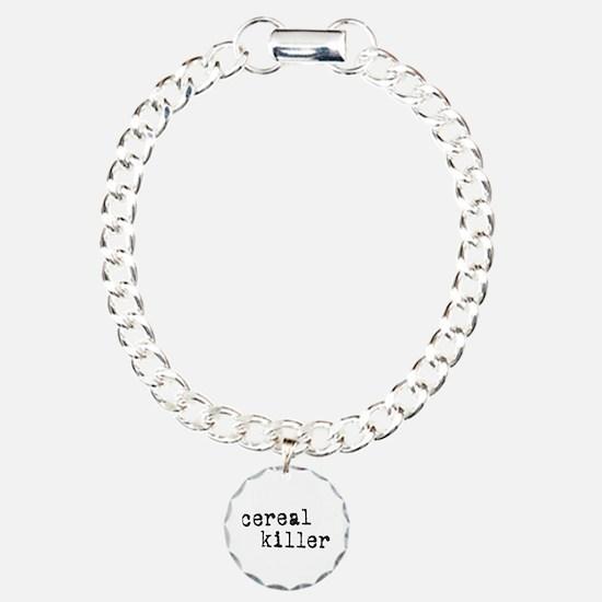 Cereal Killer Charm Bracelet, One Charm