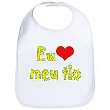I Love Uncle (Port/Brasil) Bib