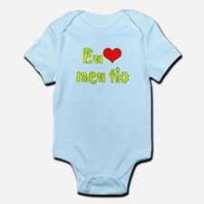 I Love Uncle (Port/Brasil) Infant Bodysuit