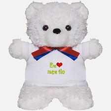 I Love Uncle (Port/Brasil) Teddy Bear