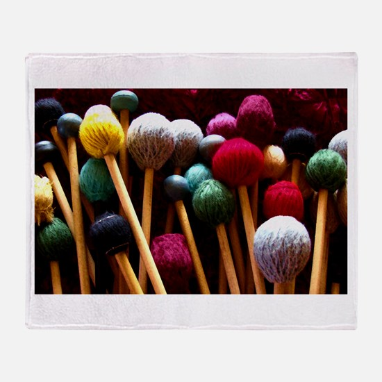 Mallets Throw Blanket