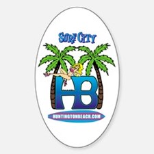 HB Oval Decal