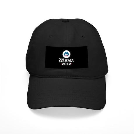 Re-elect Obama 2012 Black Cap