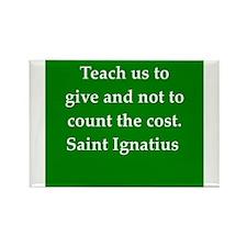 Saint Ignatius Rectangle Magnet