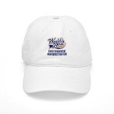 Database Administrator Gift (Worlds Best) Baseball Cap