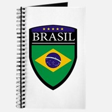 Brasil Flag Patch Journal