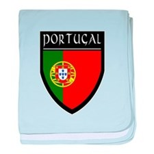 Portugal Flag Patch baby blanket