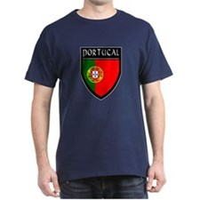 Portugal Flag Patch T-Shirt