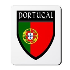 Portugal Flag Patch Mousepad