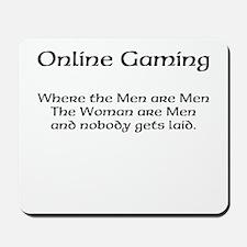 Online Gaming Mousepad