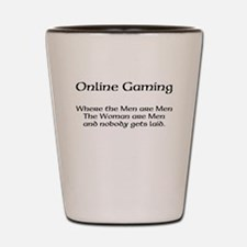 Online Gaming Shot Glass