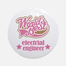 Electrical Engineer Gift (Worlds Best) Ornament (R