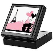 Paris love Keepsake Box