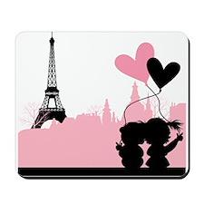 Paris love Mousepad