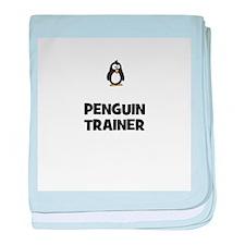 penguin trainer baby blanket