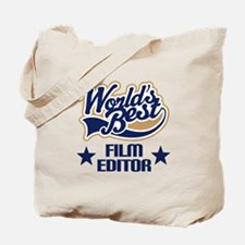 Film Editor Gift (Worlds Best) Tote Bag