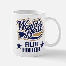 Film Editor Gift (Worlds Best) Mug
