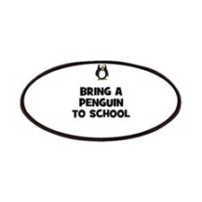bring a penguin to school Patches