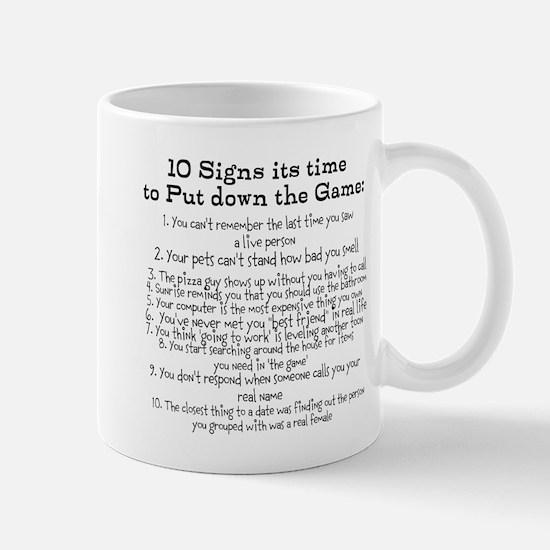 Put down the game! Mug