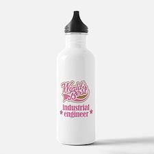 Industrial Engineer Gift (Worlds Best) Water Bottle