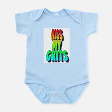 Kiss My Grits Infant Creeper
