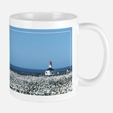Lighthouse with Wildflowers Mug