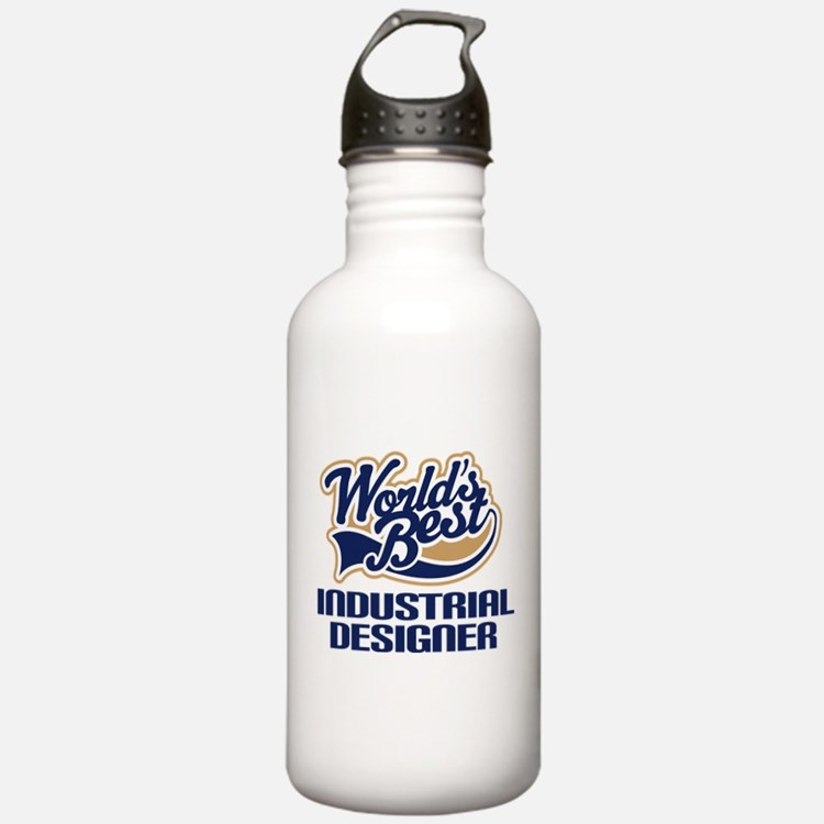 Industrial Designer Gift (Worlds Best) Water Bottle