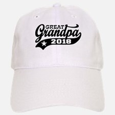 Great Grandpa 2018 Baseball Baseball Cap