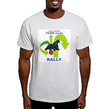 Cocker Rally Ash Grey T-Shirt