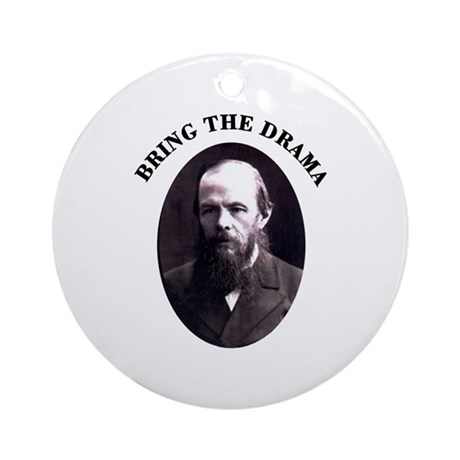 Bring the Drama Ornament (Round)