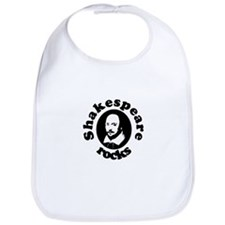 Shakespeare Rocks Bib
