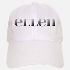 Ellen Carved Metal Baseball Baseball Cap