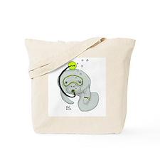 SCUBA Manatee Tote Bag