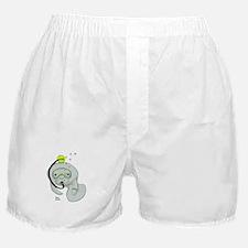 SCUBA Manatee Boxer Shorts